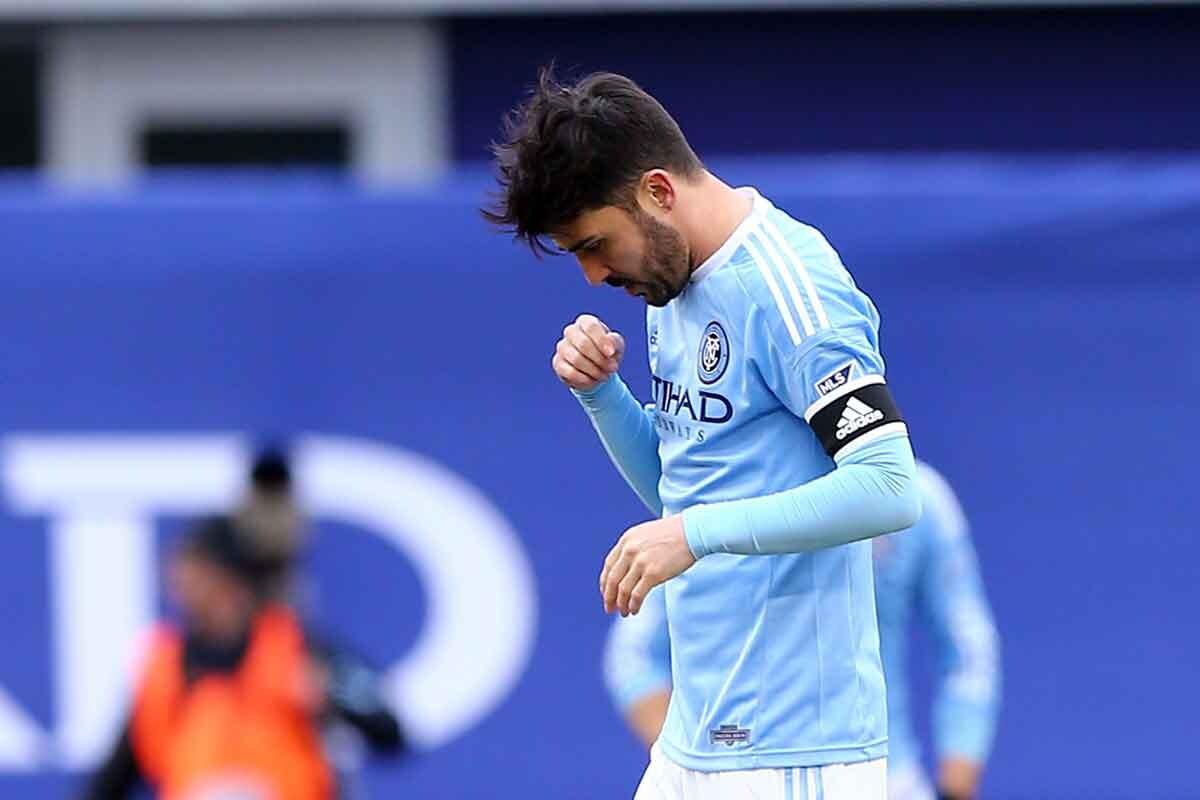 David Villa decepcionado