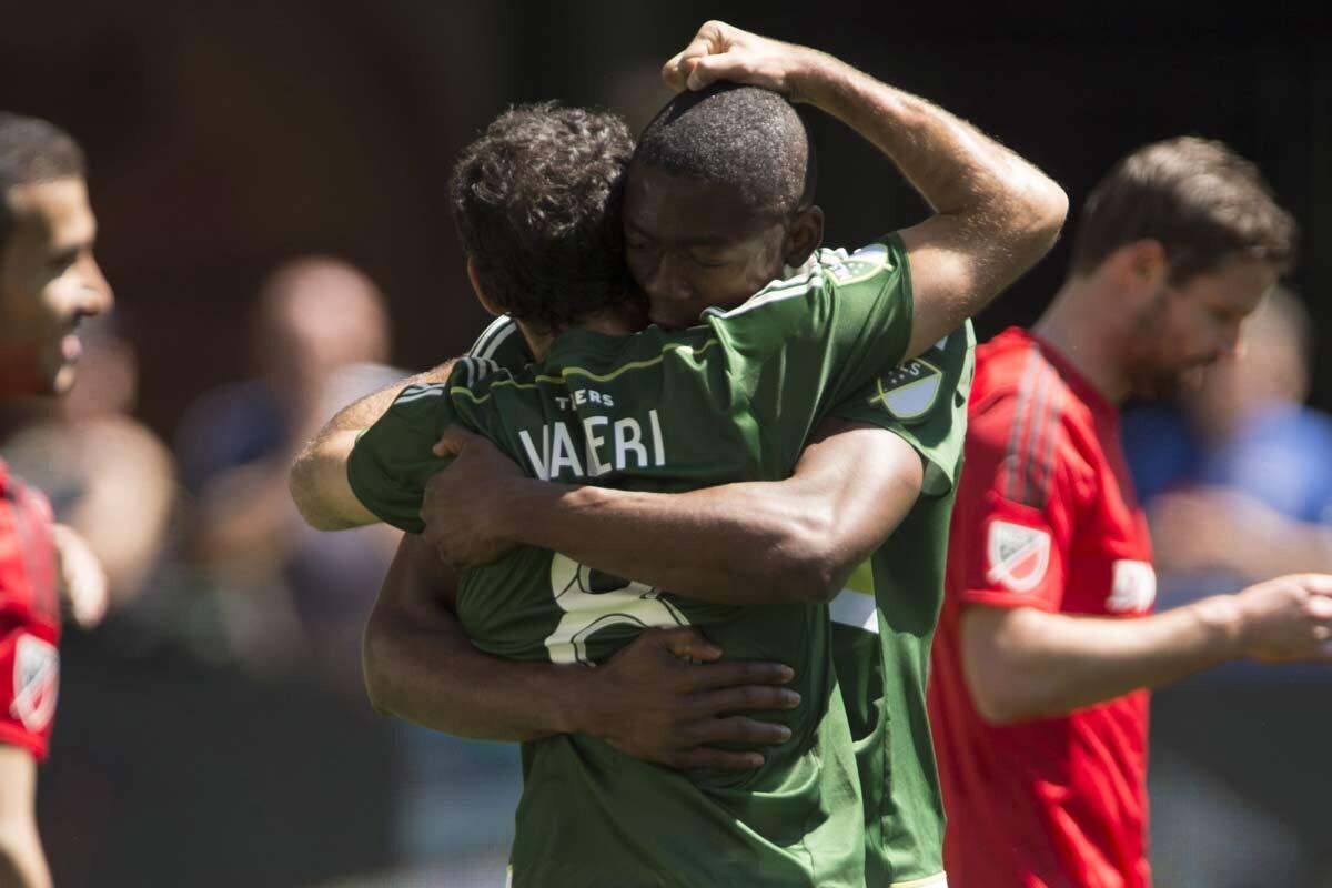 Diego Valeri y Fanendo Adi