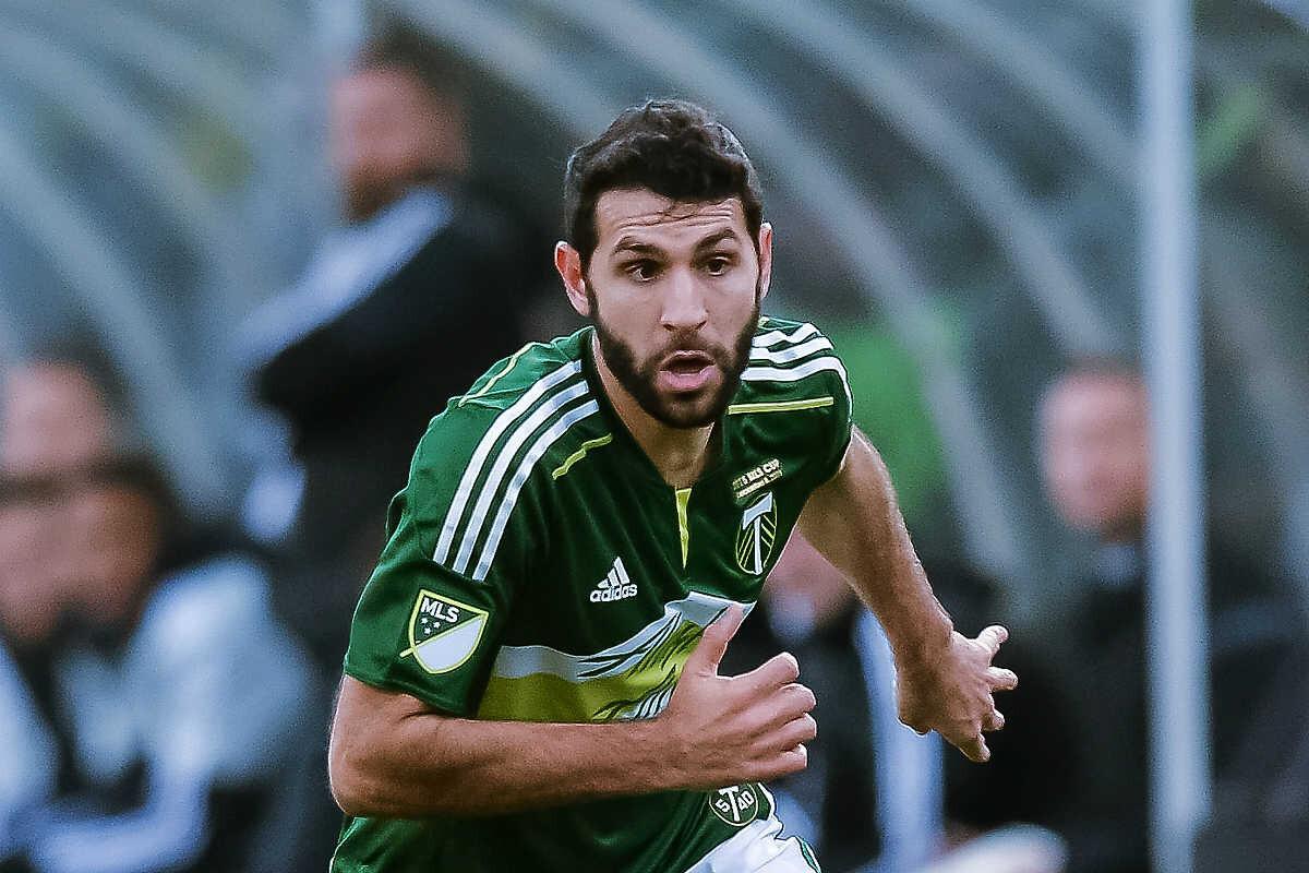 Diego Valeri, centrocampista de los Portland Timbers