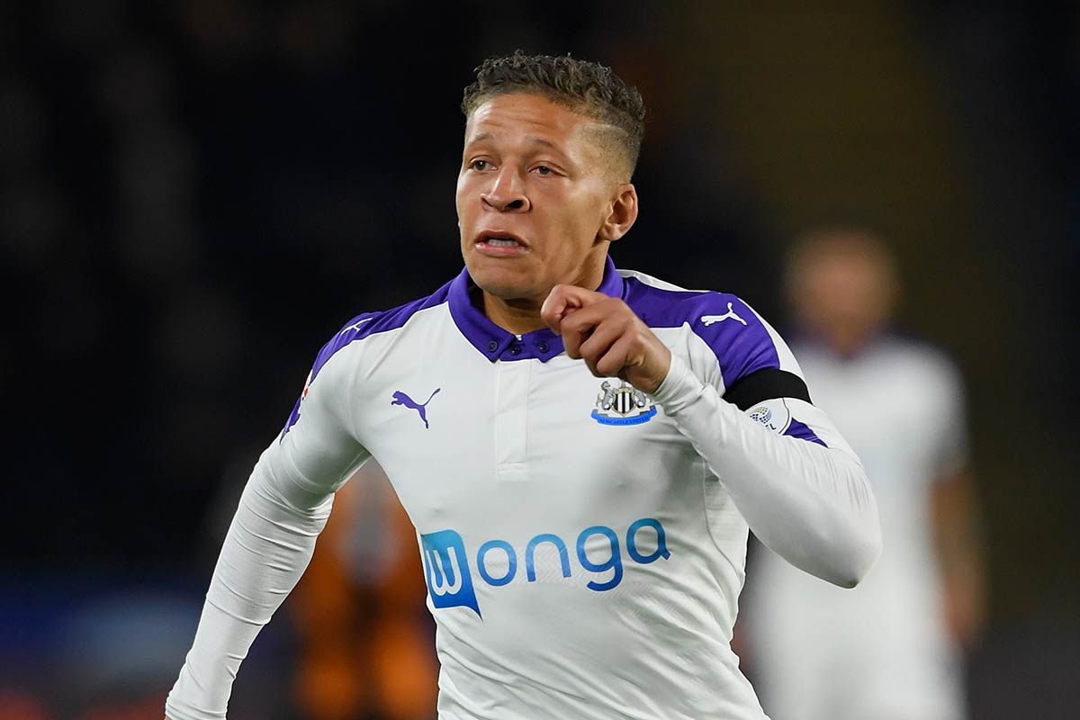 Dwight Gayle, del Newcastle