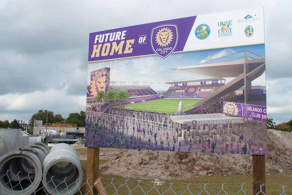 Nuevo estadio del Orlando City
