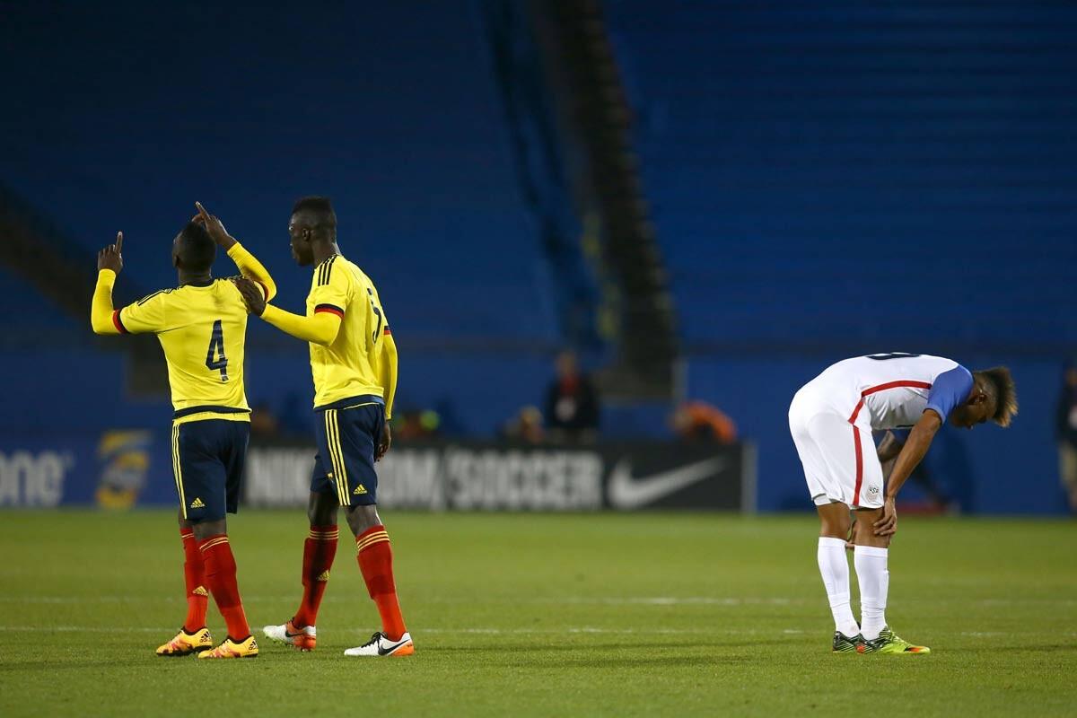 Estados Unidos U-23 no pudo y fue superado por Colombia