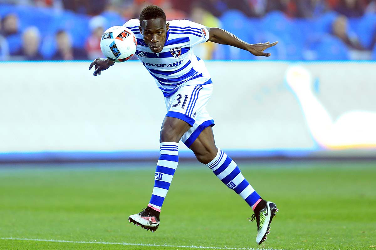 Fabian Castillo, de FC Dallas