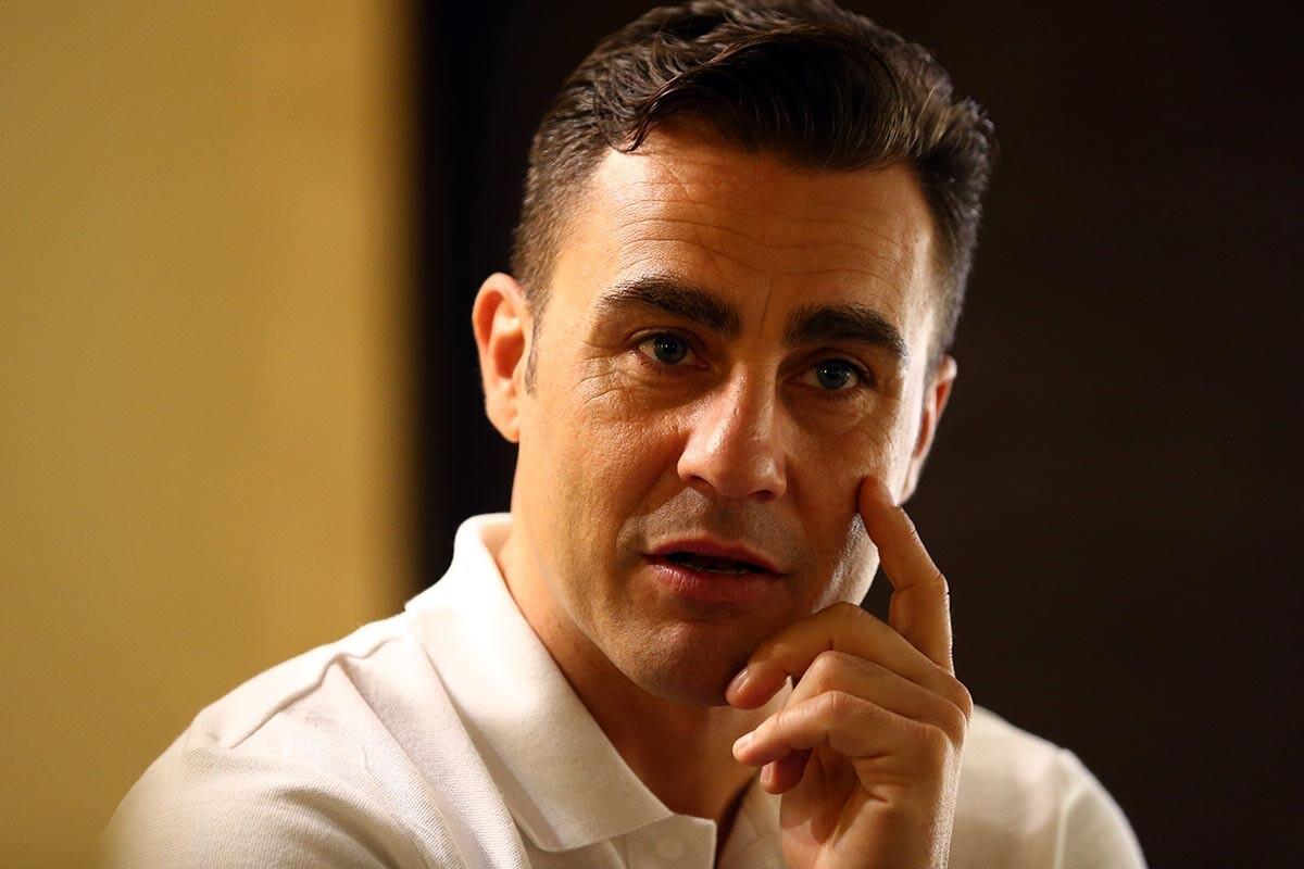 Fabio Cannavaro, técnico de Tianjin Quanjian
