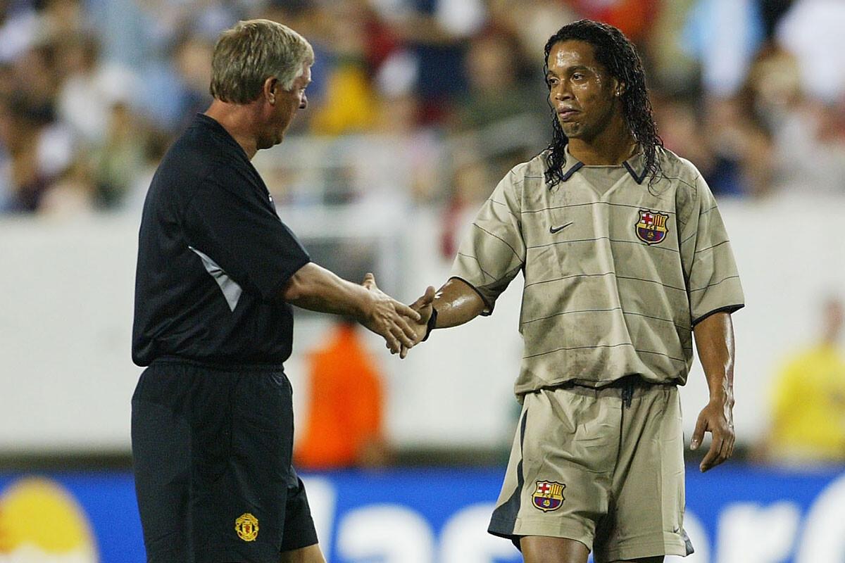 Alex Ferguson, Ronaldinho