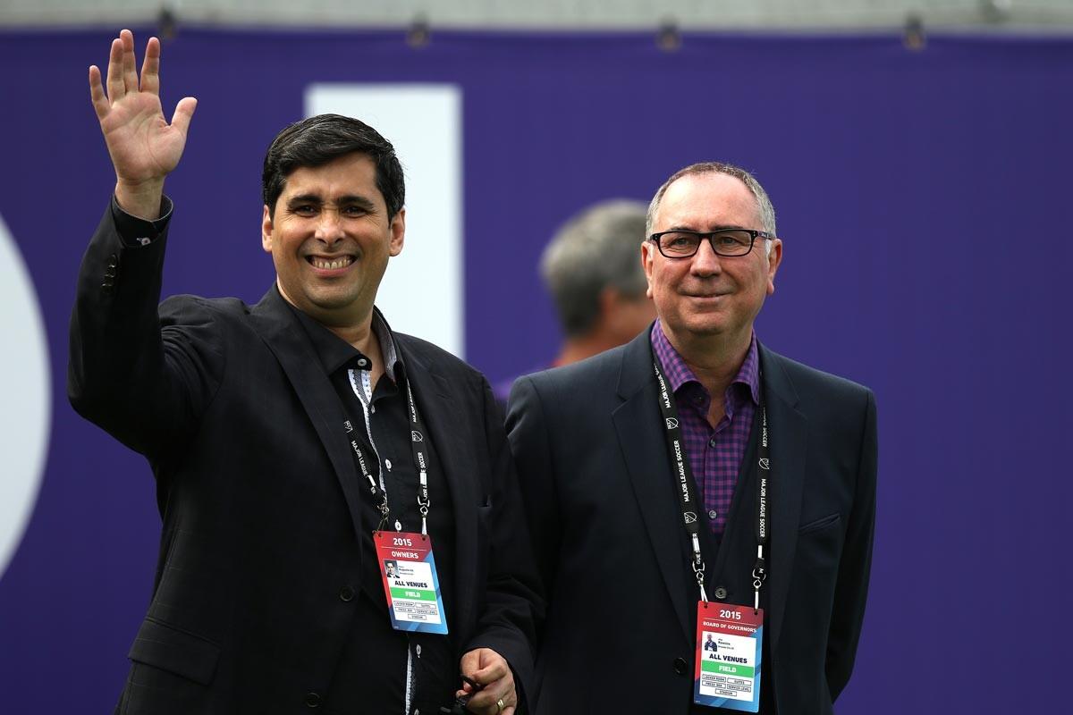 Flavio da Silva, máximo accionista de Orlando City, supervisó las obras del estadio propio de la franquicia
