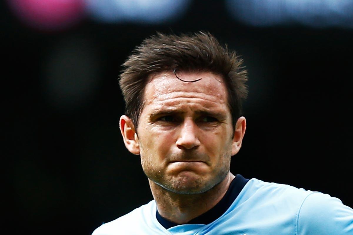Frank Lampard, del Chelsea