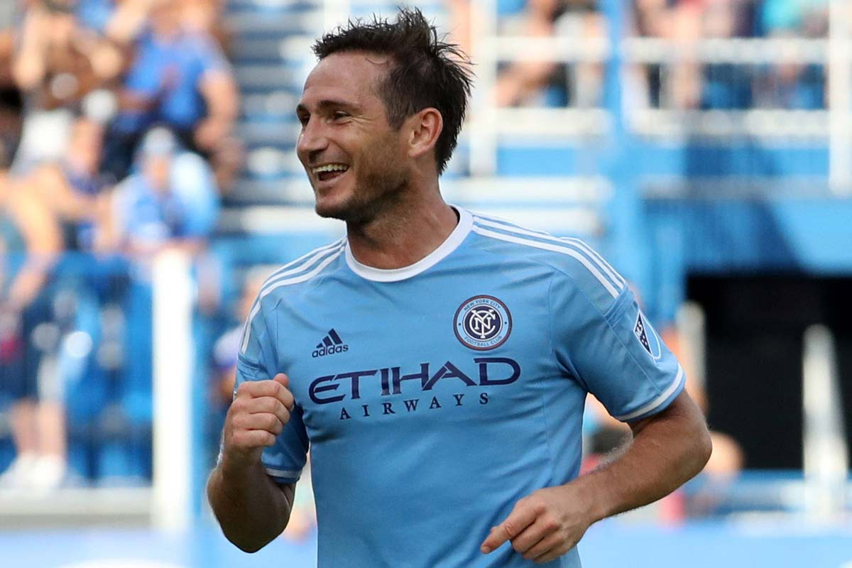 Frank Lampard, de New York City