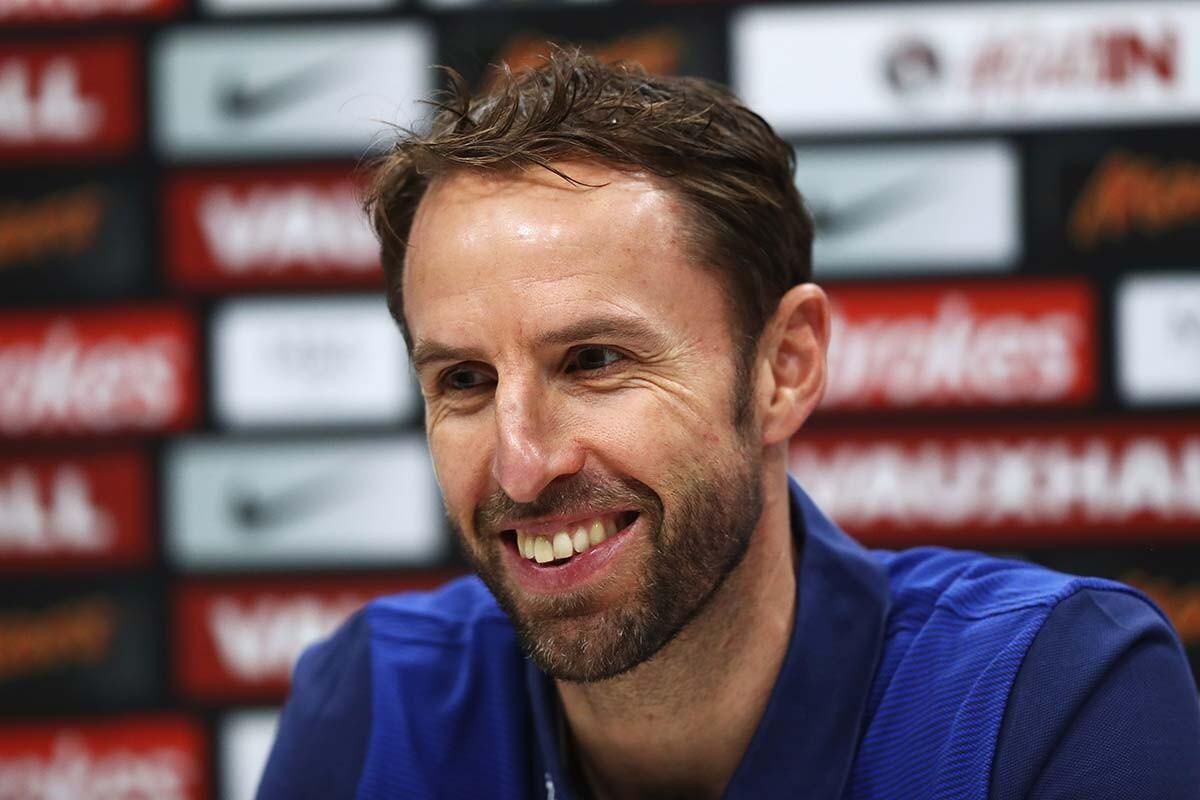 Gareth Southgate, seleccionador inglés