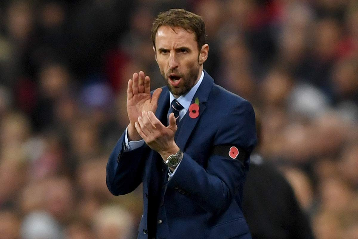 Gareth Southgate, entrenador de Inglaterra