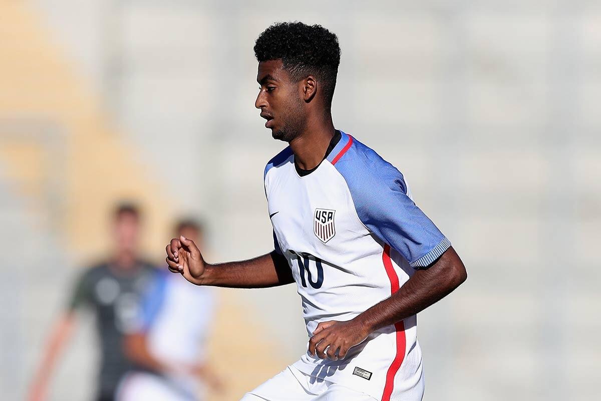 Gedion Zelalem, con los Estados Unidos