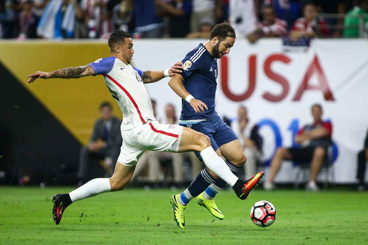 EEUU no está a la altura en la semifinal de la copa américa centenario