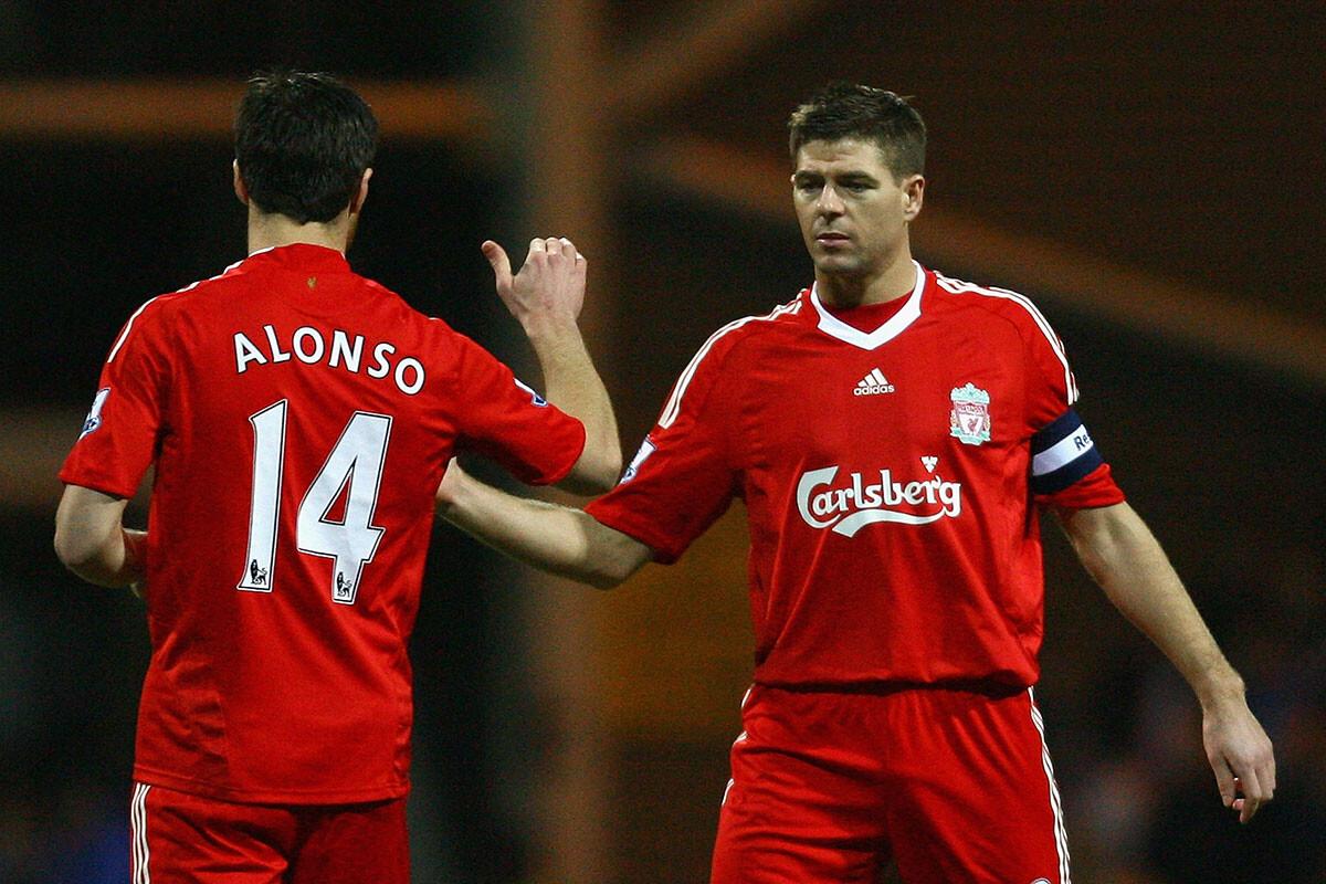 Steven Gerrard, Xabi Alonso