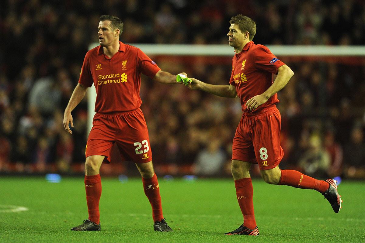 Steven Gerrard, Jamie Carragher
