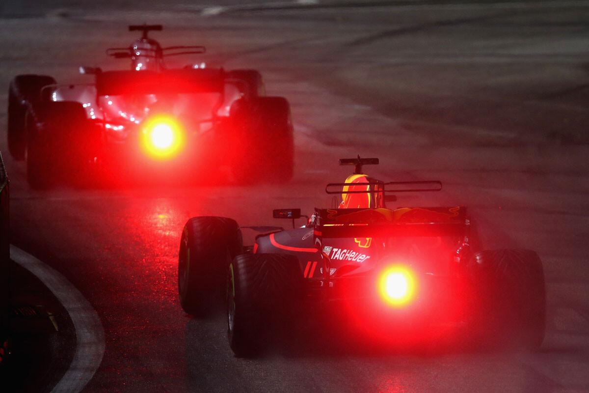 Las mejores imágenes del GP de Singapur
