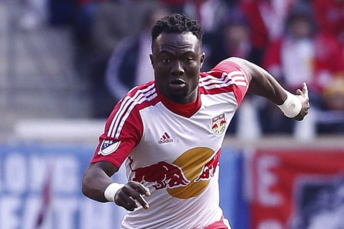 Gideon Baah, de New York Red Bulls