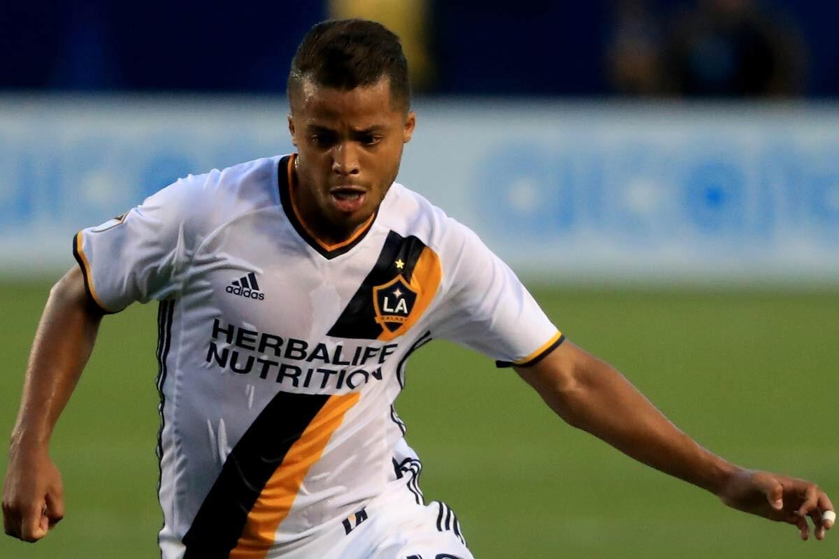 Gio Dos Santos, de Los Angeles Galaxy