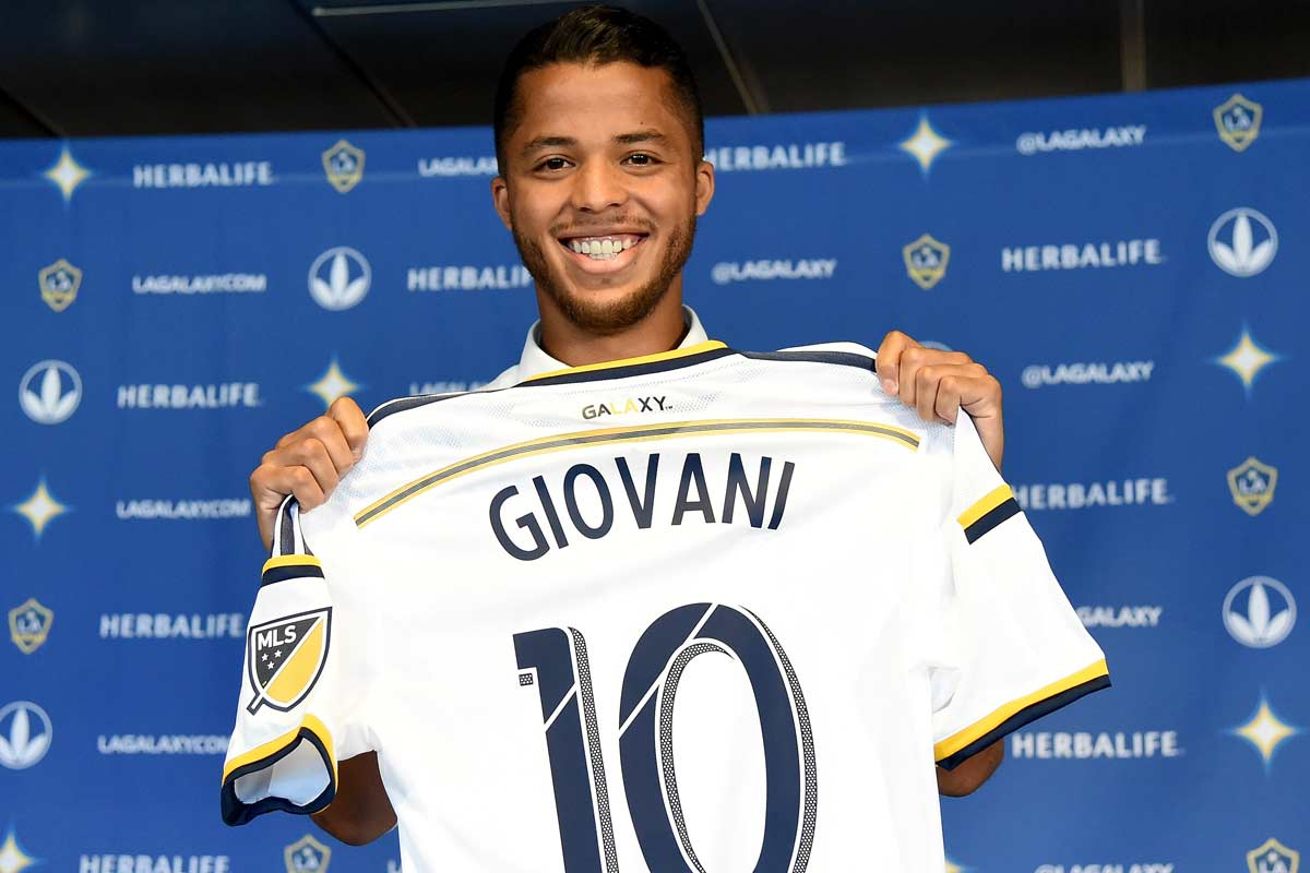 Gio Dos Santos, de Los Angeles Galaxy