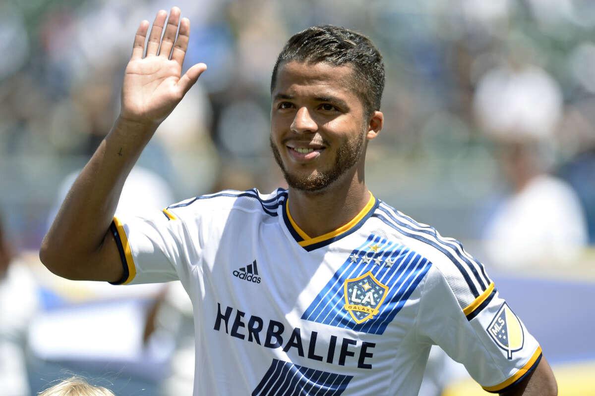 Gio Dos Santos, jugador estrella de Los Angeles Galaxy