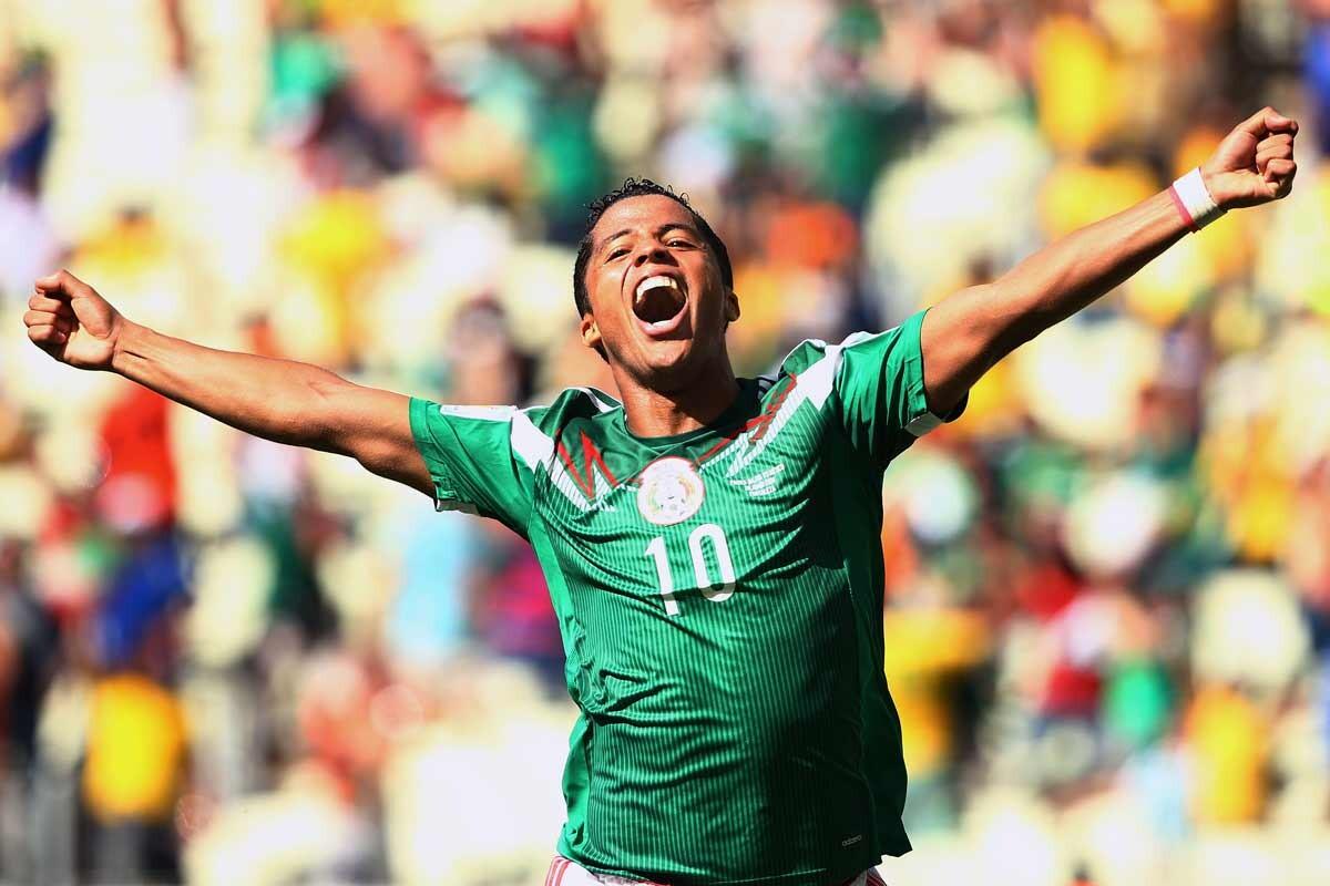 Giovani Dos Santos, con la selección de México