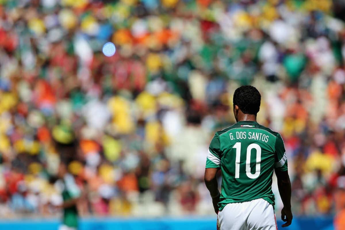 Giovani Dos Santos fuera de la selección