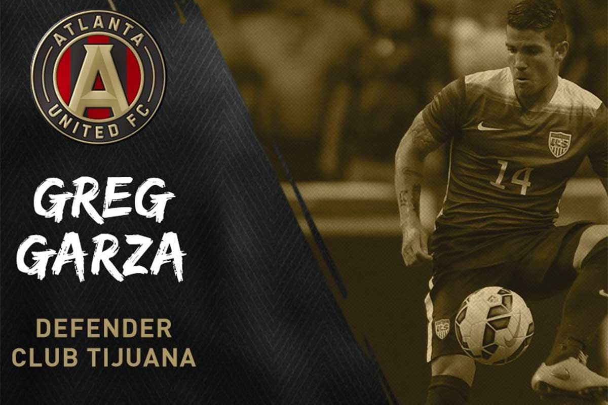 Greg Garza, de Atlanta United