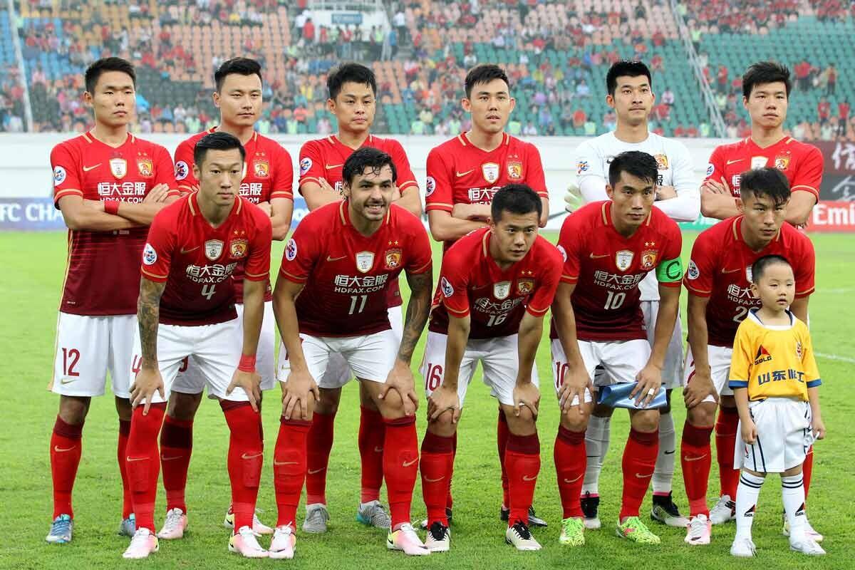 Guanghzou Evergrande, gigante del fútbol chino