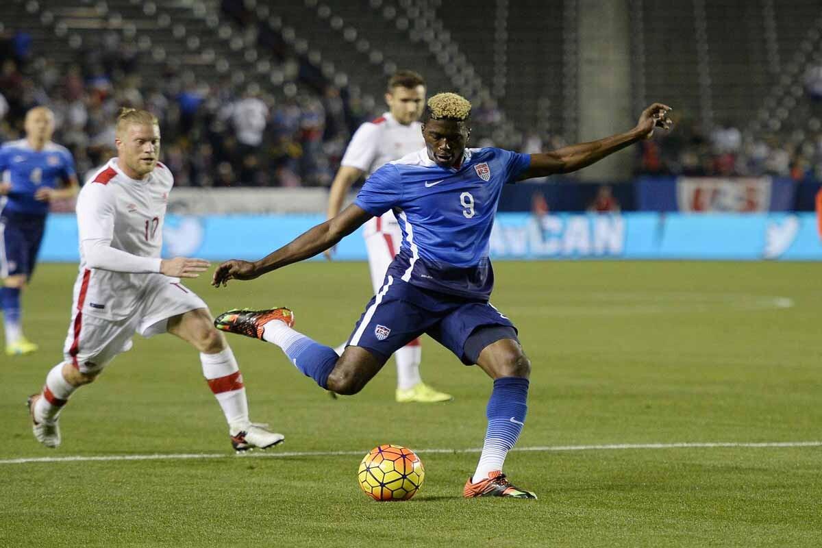 Gyasi Zardes, jugador de LA Galaxy