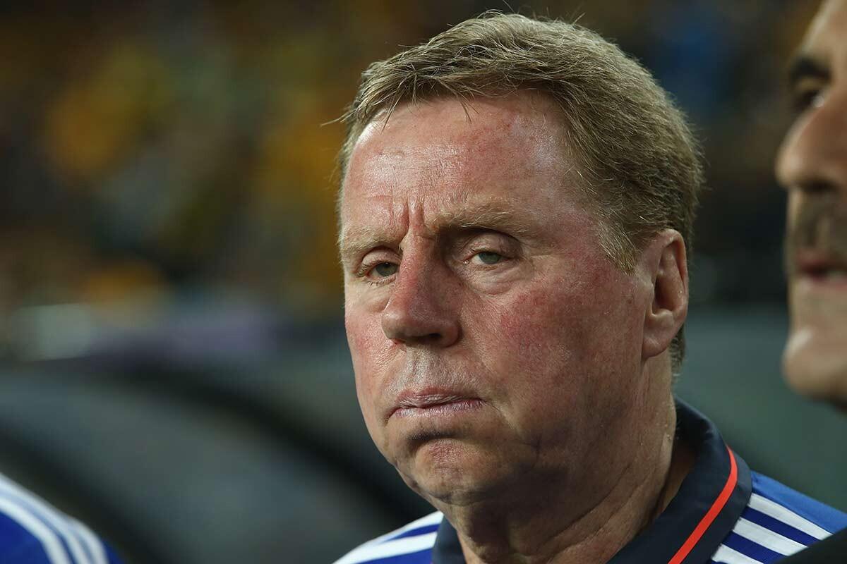 Harry Redknapp, técnico de Jordania