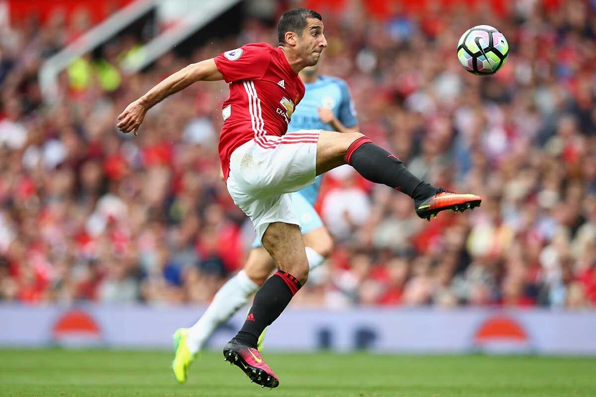 Hneik Mkhitaryan, del Manchester United
