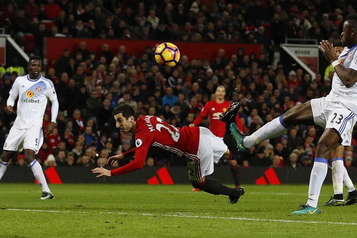 Henrikh Mkhitaryan, del Manchester United