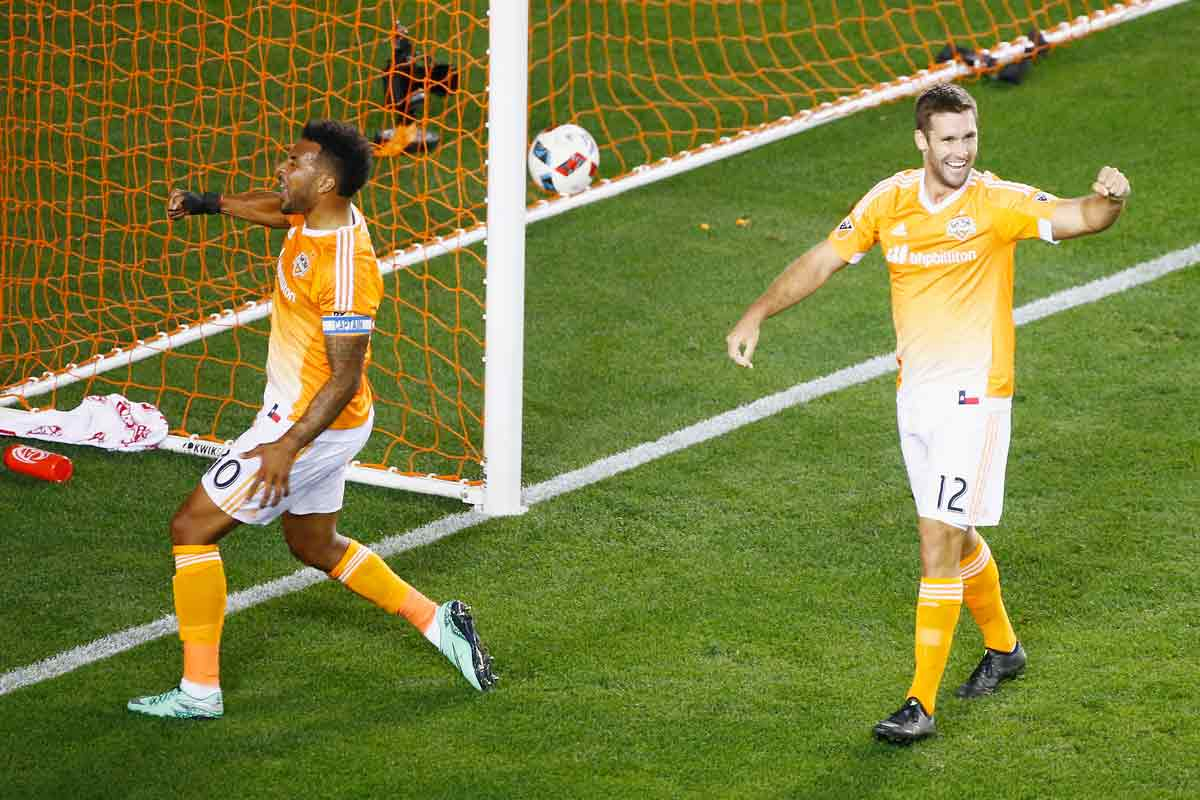 Houston Dynamo goleó a Dallas Fc