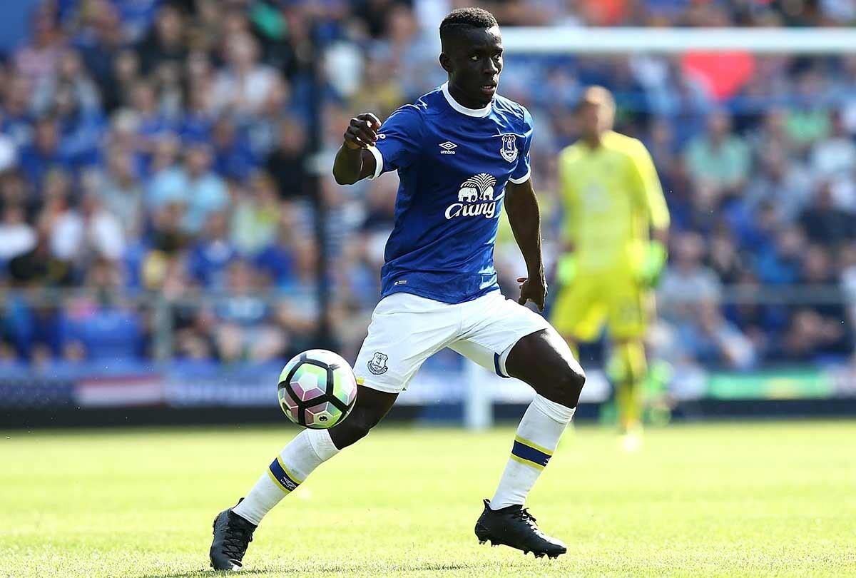 Idrissa Gueye, jugador del Everton