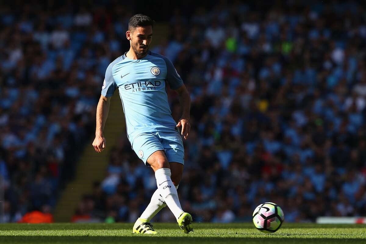 Ilkay Gundogan, del Manchester City