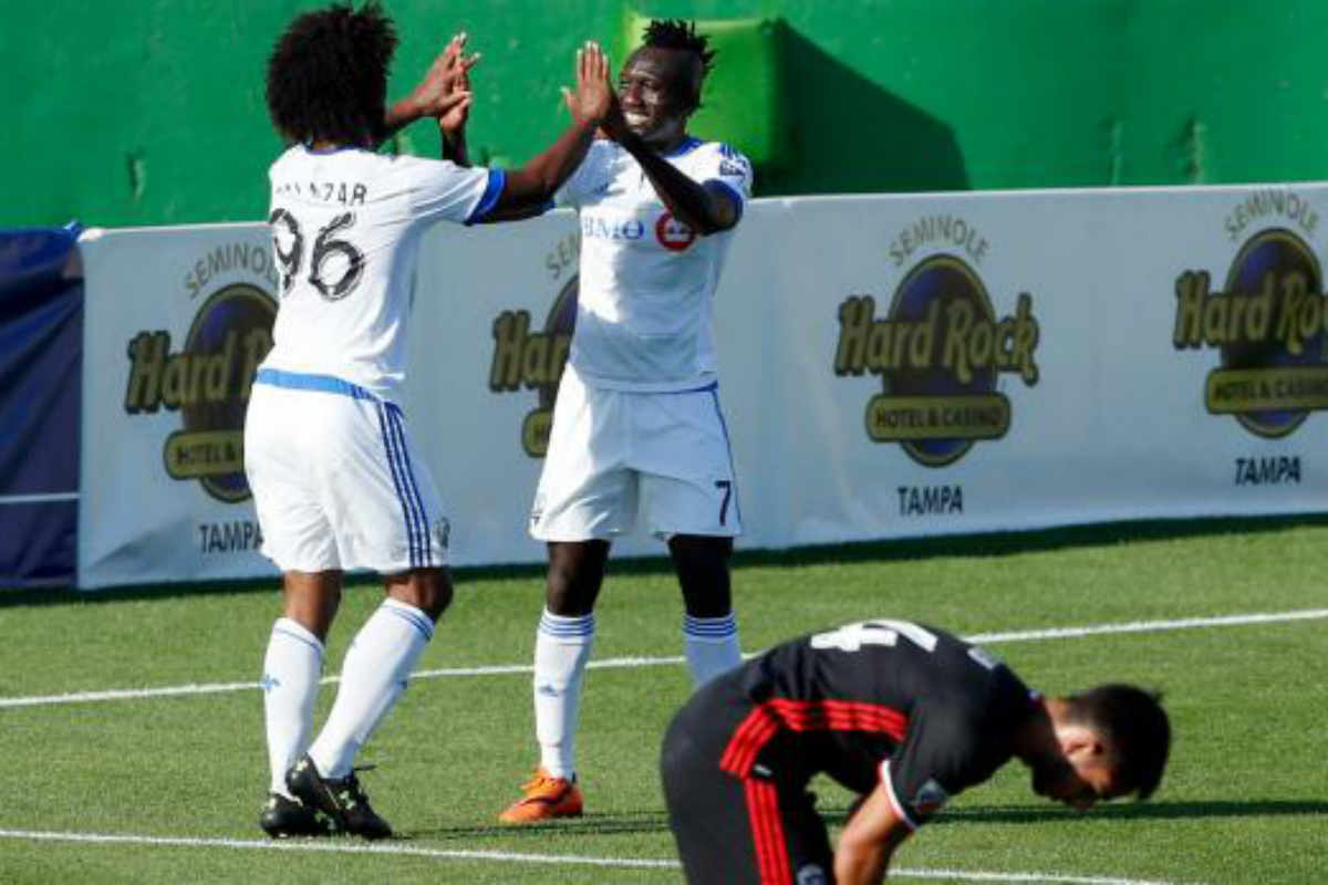 DC United vs Montreal Impact, de preseason