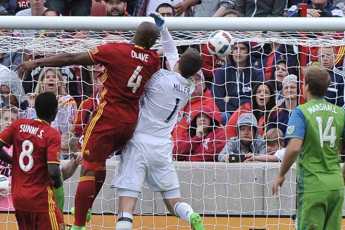 Jámison Olave, del Real Salt Lake