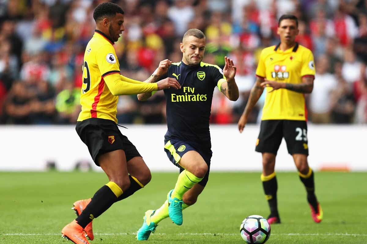 Jack Wilshere, con el Arsenal