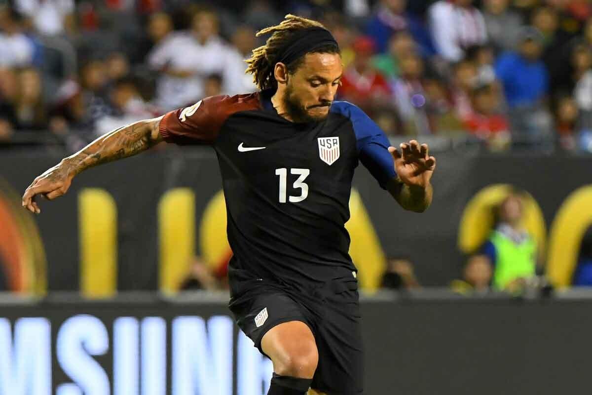 jermaine jones, jugador de la MLS, fue figura en el partido contra Costa RIca