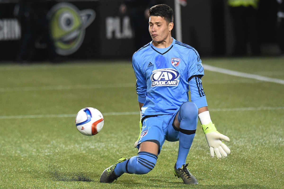 Jesse Gonzalez, portero del FC Dallas