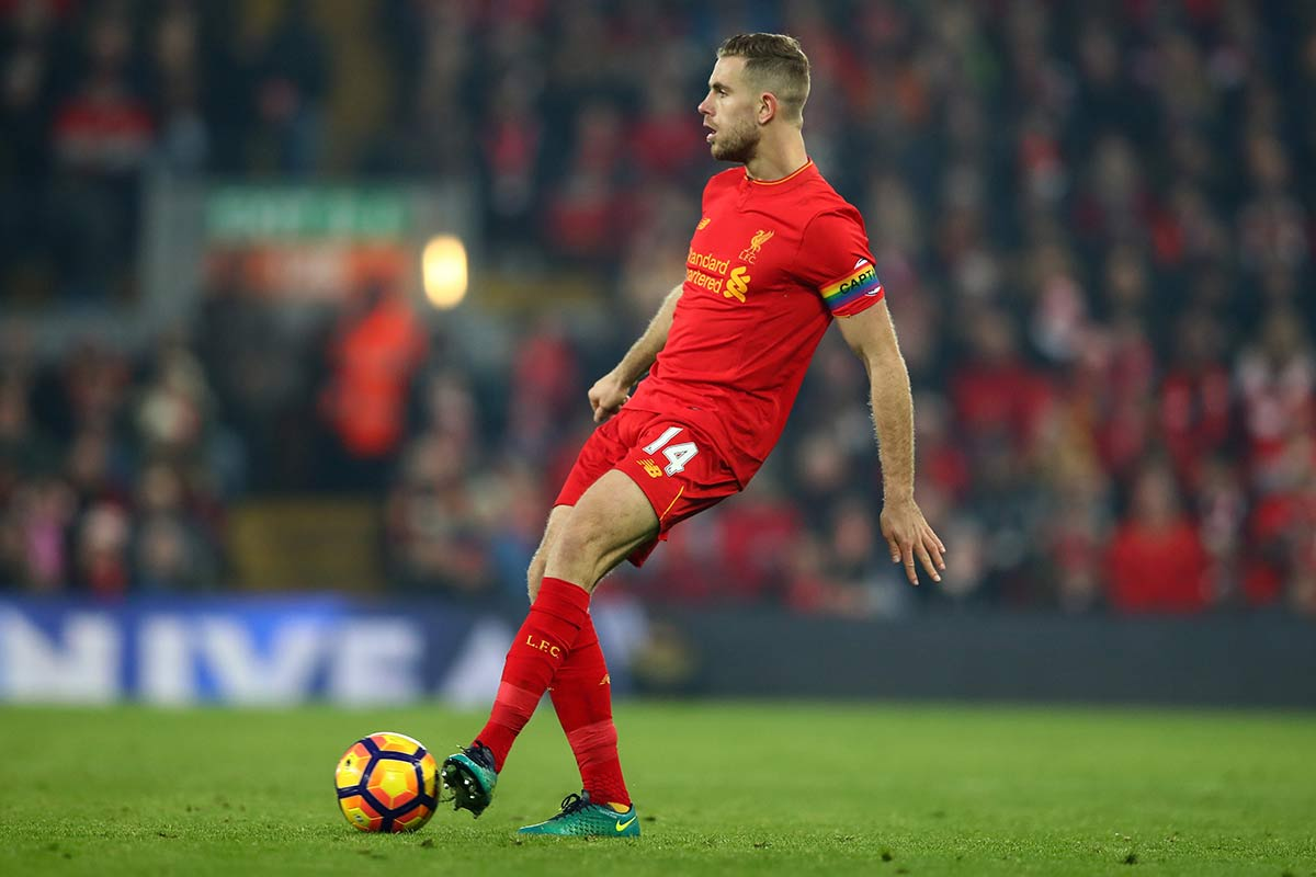 Jordan Henderson, centrocampista del Liverpool