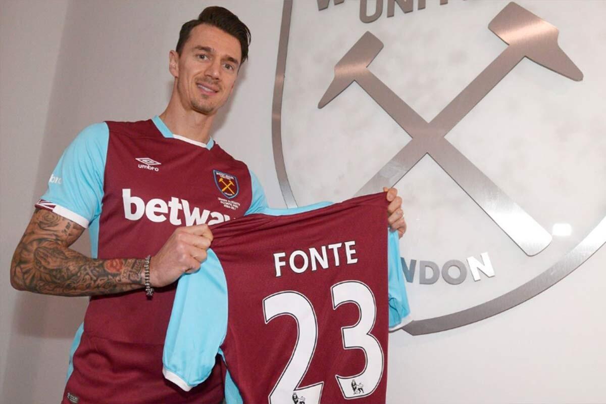 Jose Fonte, nuevo jugador del West Ham