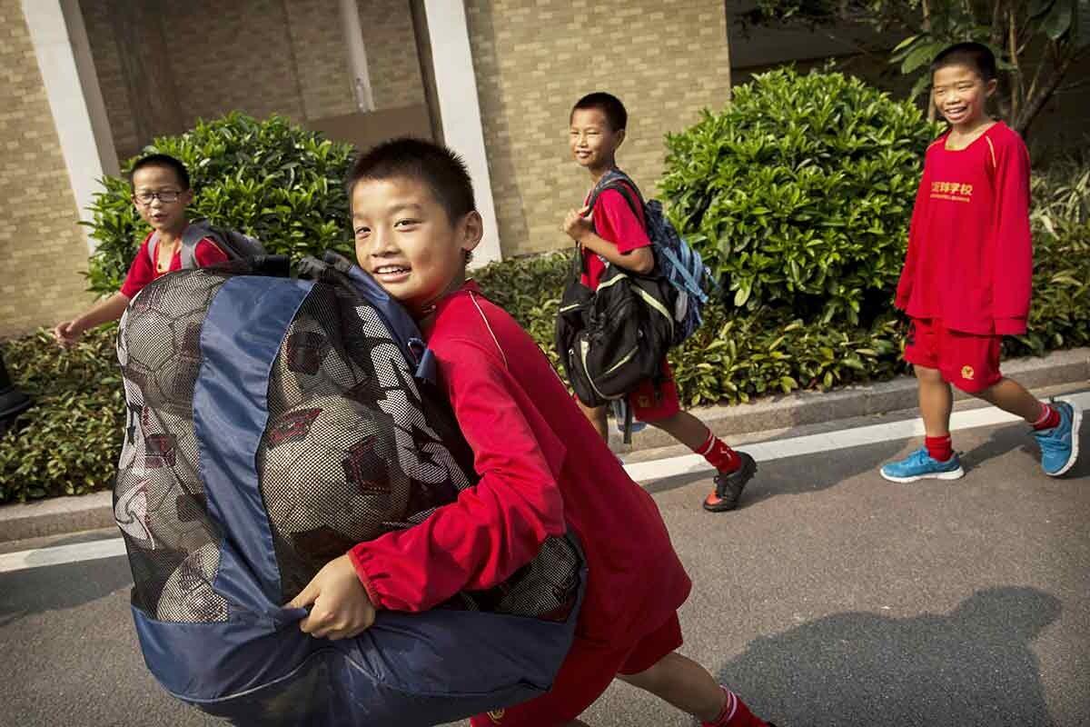 Jovenes Chinos