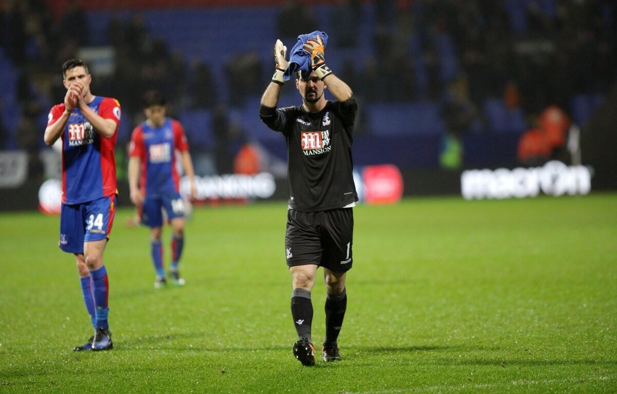 Julián Speroni es el portero con más apariciones en el Crystal Palace
