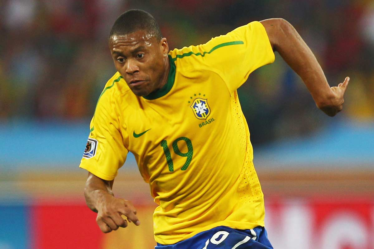 Julio Baptista habló sobre la selección brasileña