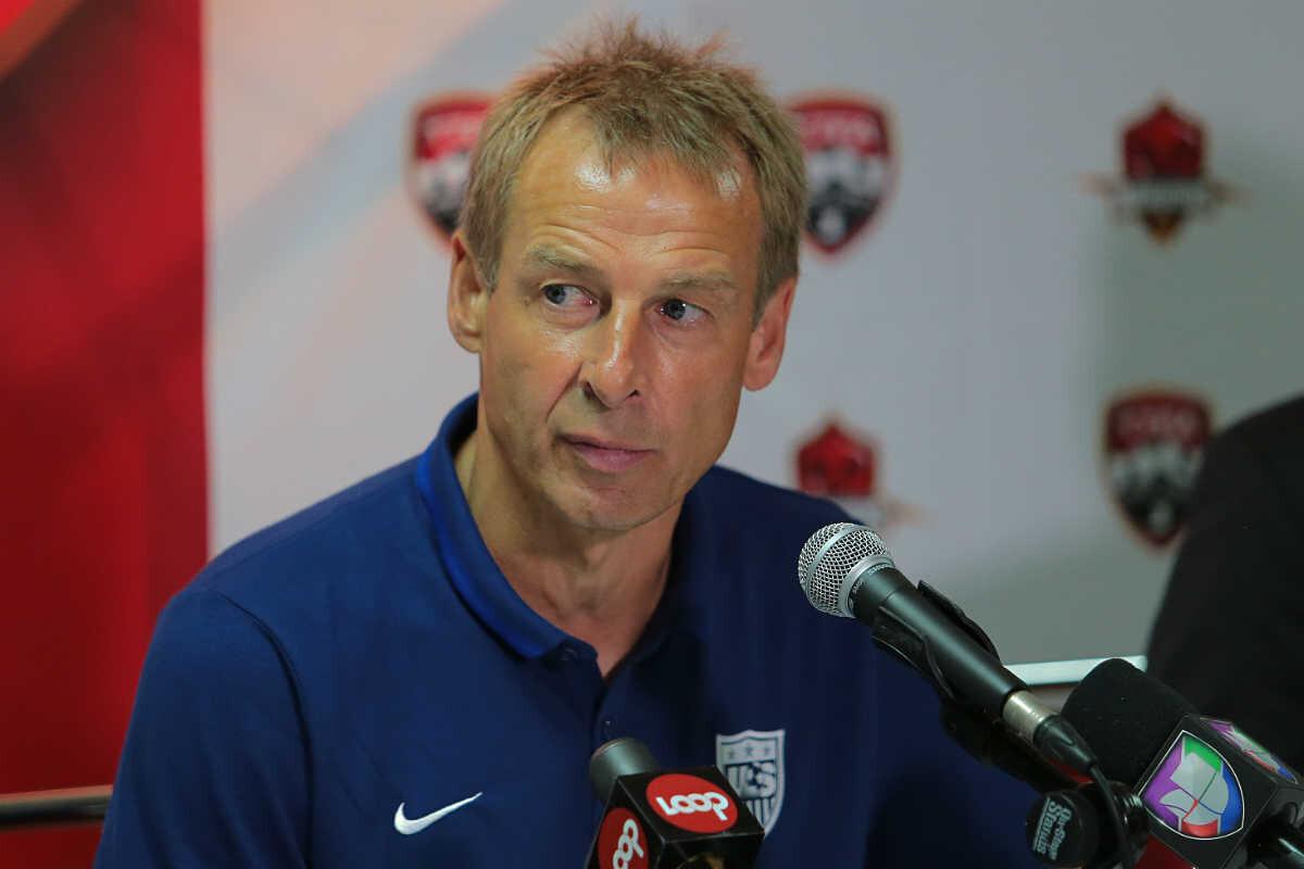 Jurgen Klinsmann, seleccionador de Estados Unidos