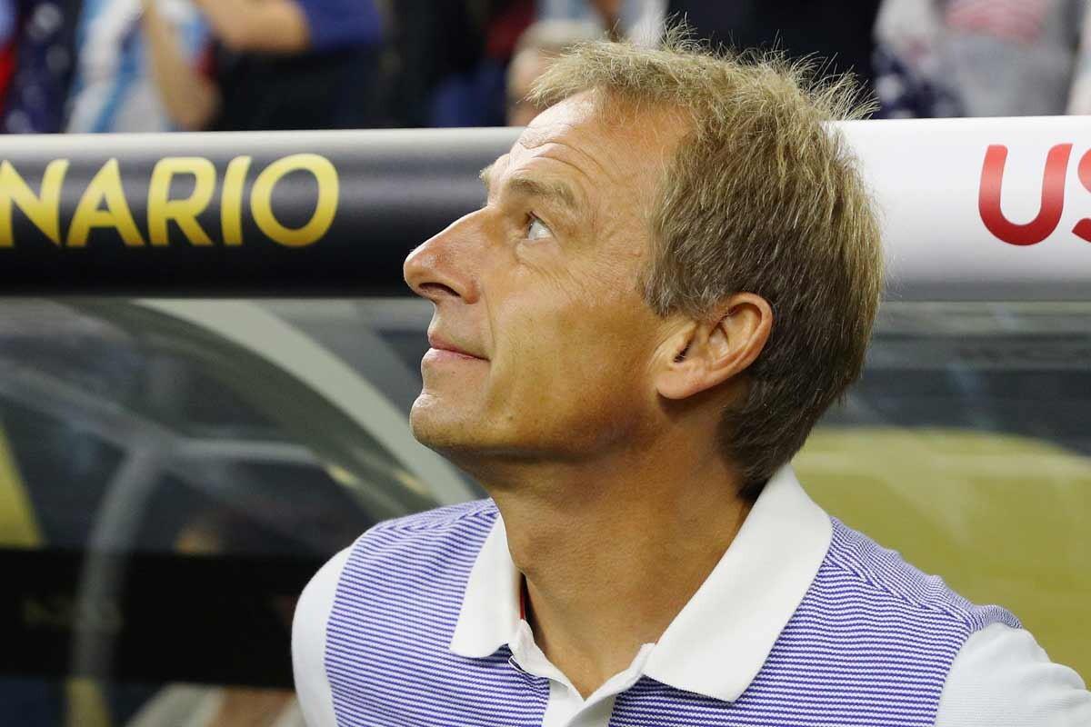 Jurgen Klinsmann, selecciondor de los Estados Unidos