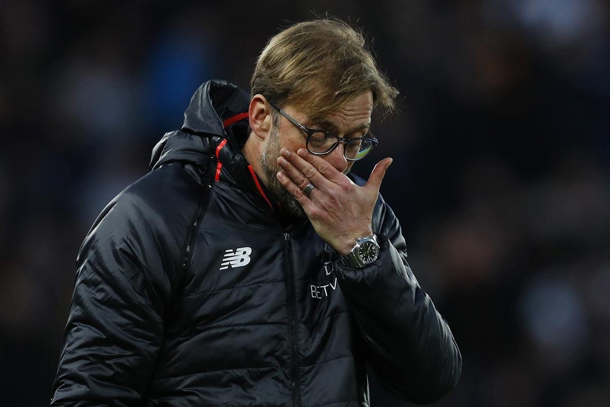 Jurgen Klopp. técnico del Liverpool