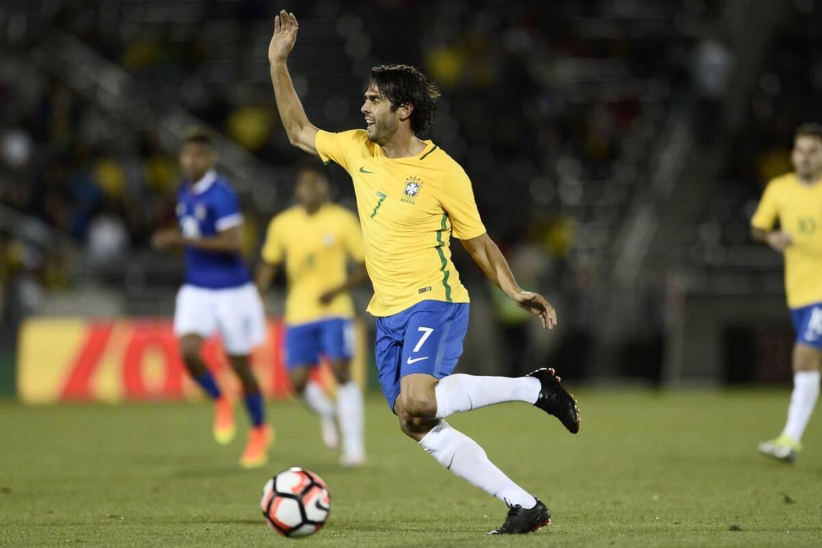 Kaka se queda fuera de la Copa América