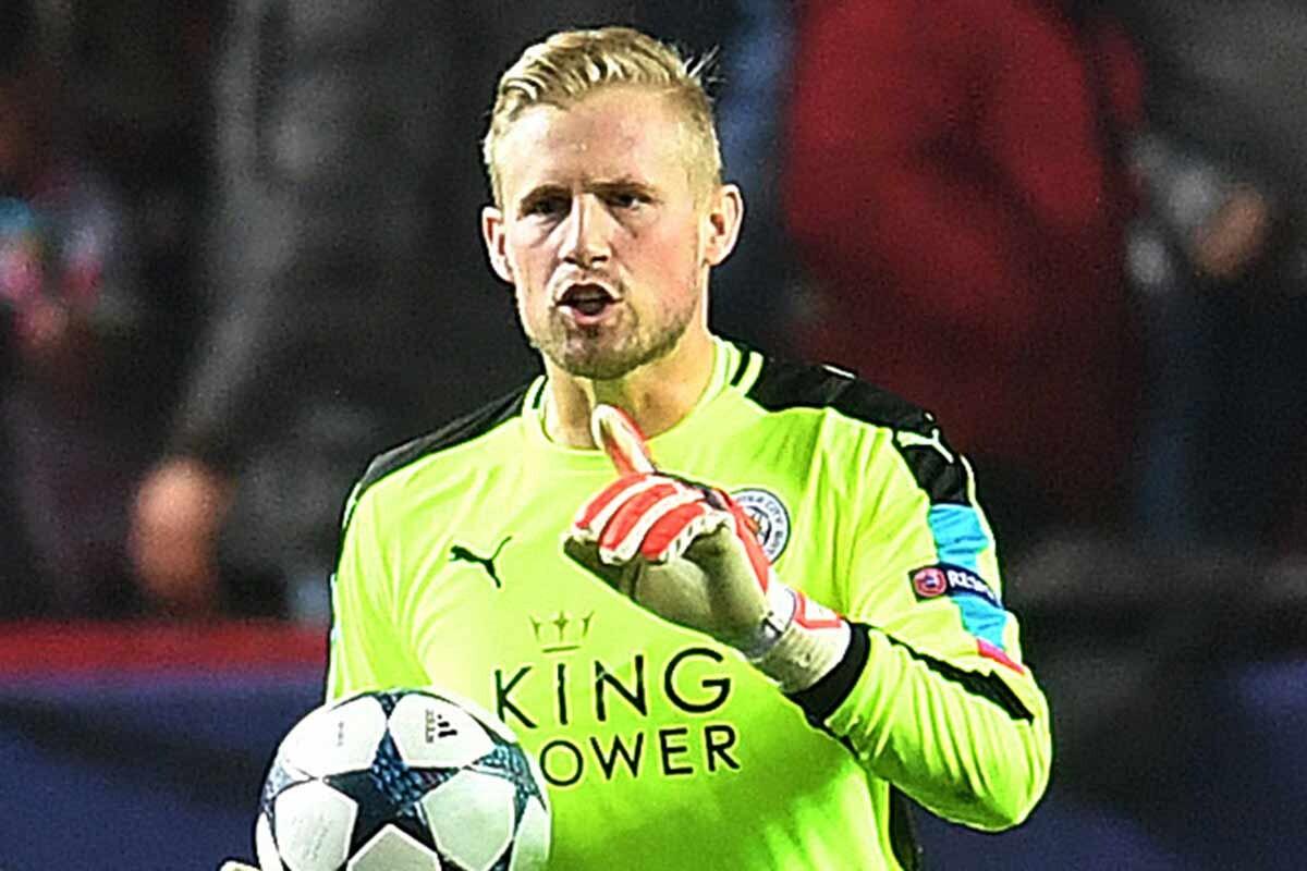 Kasper Schmeichel, portero del Leicester City