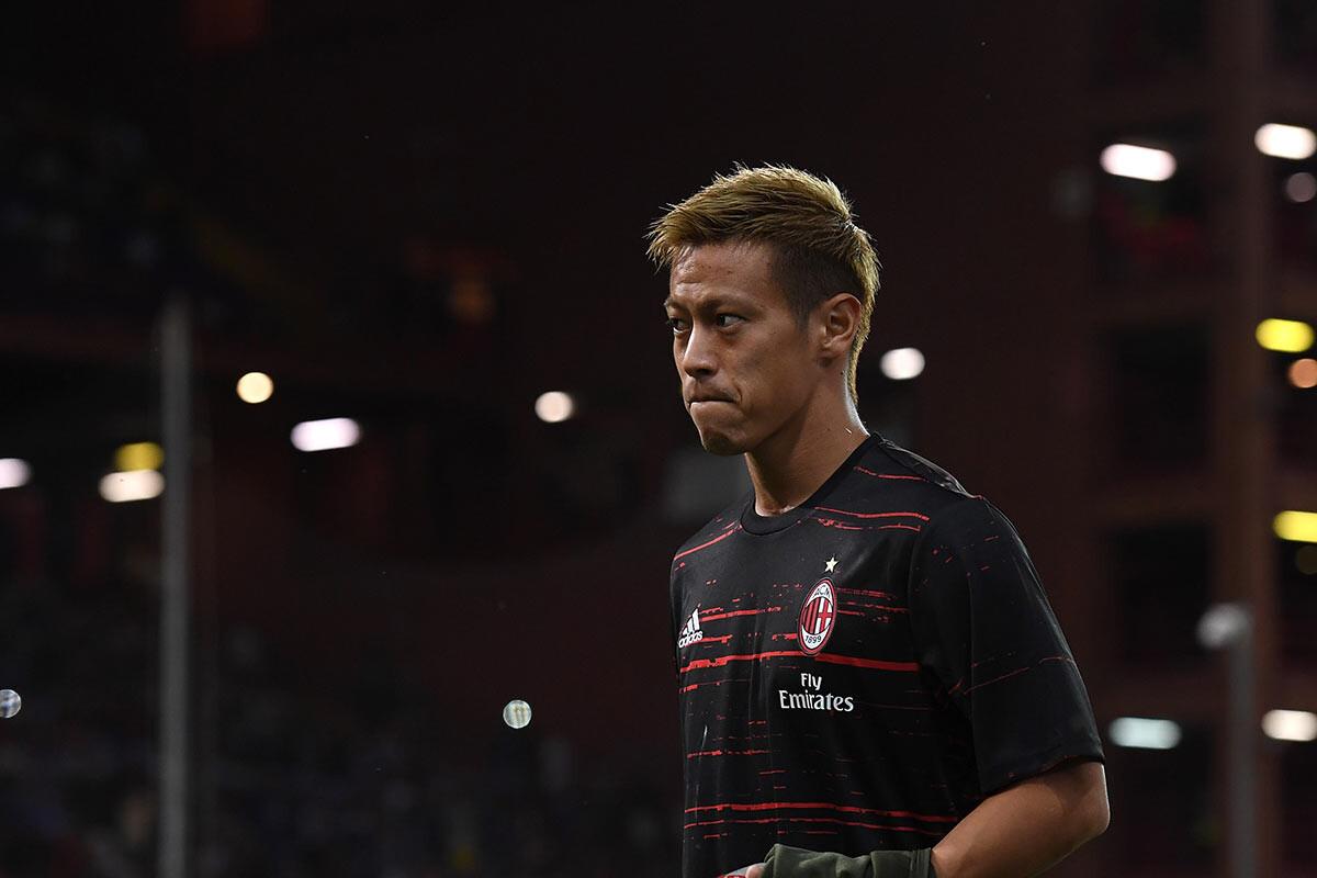 Keisuke Honda, del Milan